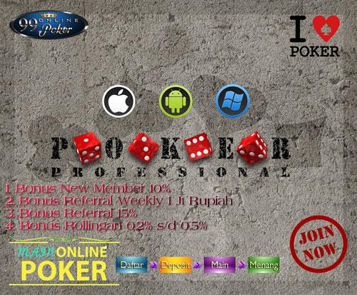 Tips dan Cara Menang Main Poker Ampuh